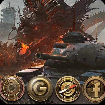 Tank theme poster