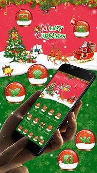 Cute Santa Claus Christmas Theme screenshot 1