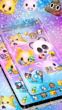 Funny Animal Emojis Theme screenshot 2