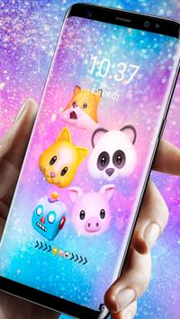 Funny Animal Emojis Theme screenshot 3