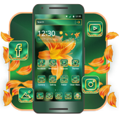 Elegant Flower Theme for Huawei P8 P10 & Samsung icon