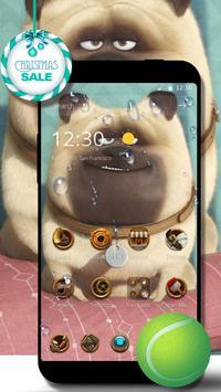 Cute Dog  theme Beautiful icon screenshot 1