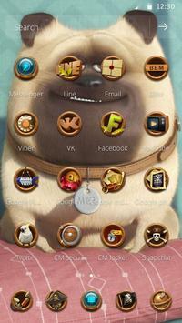 Cute Dog  theme Beautiful icon screenshot 2