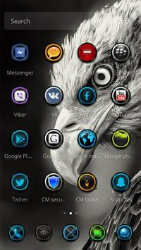 Eagle theme matte wallpaper screenshot 1