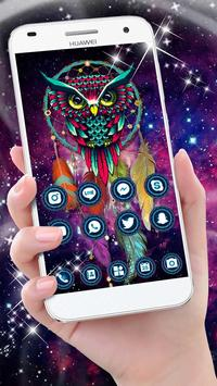 Ethic Colorful Magical Dreamcatcher Owl Theme screenshot 1