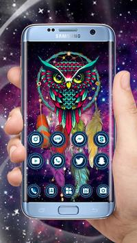 Ethic Colorful Magical Dreamcatcher Owl Theme screenshot 2