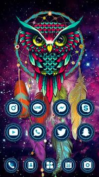 Ethic Colorful Magical Dreamcatcher Owl Theme screenshot 3