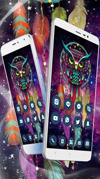 Ethic Colorful Magical Dreamcatcher Owl Theme screenshot 4