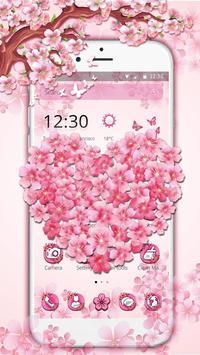 Delicate sakura Blossom Theme poster