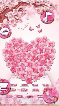 Delicate sakura Blossom Theme screenshot 2