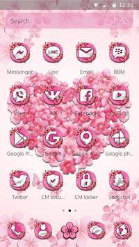 Delicate sakura Blossom Theme screenshot 4