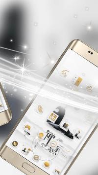 A white zen high-end fashion phone theme screenshot 4