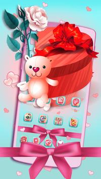 Love Valentine's Day Theme poster