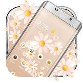 A flower sea mobile phone theme icon
