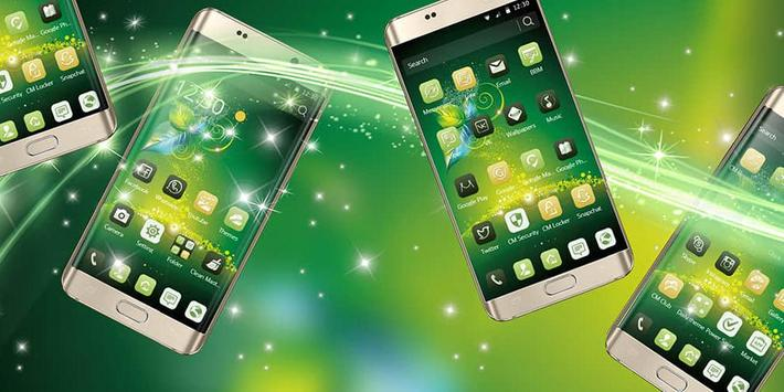 A high-end business mobile phone theme poster