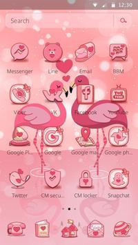 Charming Flamingo Theme screenshot 4