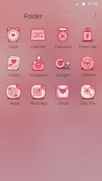 Charming Flamingo Theme screenshot 5