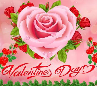 Valentine Love Rose Heart Theme screenshot 5