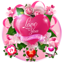 Romantic Love Heart Theme APK