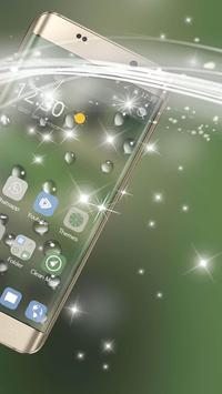 The drizzle of the mobile phone theme screenshot 2