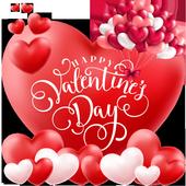 Valentine Romantic Love Heart Theme icon