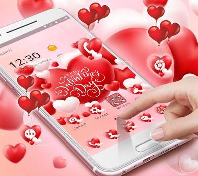 Valentine Romantic Love Heart Theme screenshot 1
