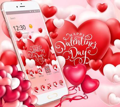 Valentine Romantic Love Heart Theme screenshot 2