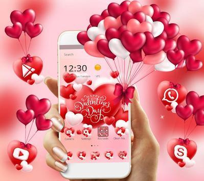 Valentine Romantic Love Heart Theme screenshot 3