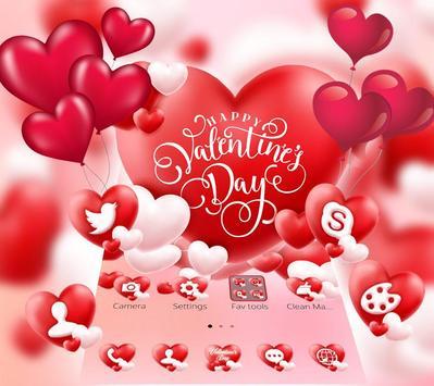Valentine Romantic Love Heart Theme screenshot 4