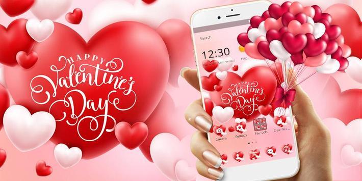 Valentine Romantic Love Heart Theme screenshot 6