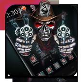 Cranial Skull Gun Theme icon