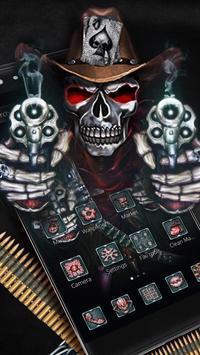 Cranial Skull Gun Theme poster