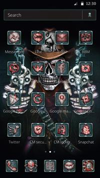 Cranial Skull Gun Theme apk screenshot