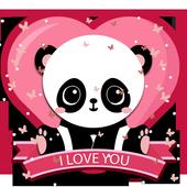 Salmon Panda Cubs Theme icon