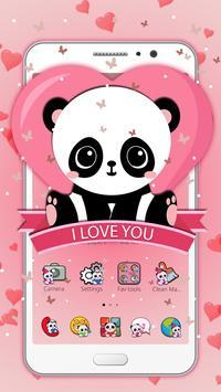 Salmon Panda Cubs Theme poster