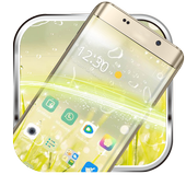 Yellow green grass water breathing phone theme icon