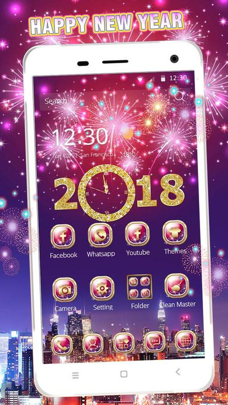 happy new year mobile theme poster happy new year mobile theme screenshot 1