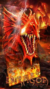 Fire Dragon Theme poster