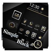 Simple Black Theme icon