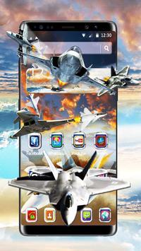 Latest Warplanes Launcher Theme poster