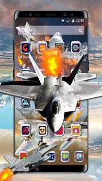 Latest Warplanes Launcher Theme screenshot 1