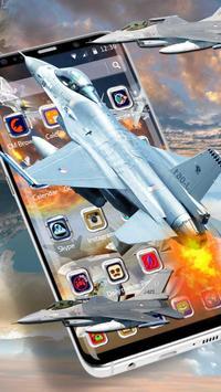 Latest Warplanes Launcher Theme screenshot 2