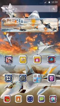 Latest Warplanes Launcher Theme screenshot 4