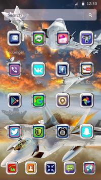 Latest Warplanes Launcher Theme screenshot 5