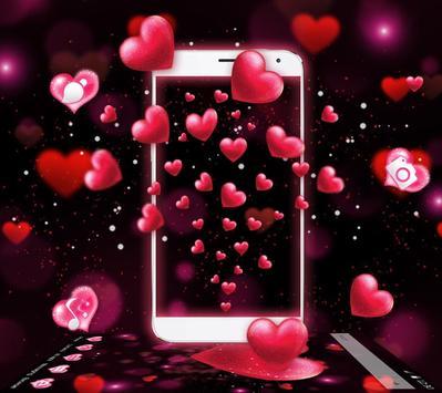 Red Heart Valentine's Day Theme screenshot 2