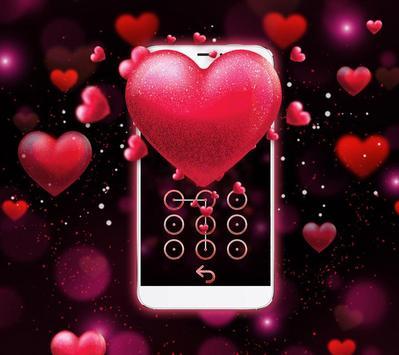 Red Heart Valentine's Day Theme screenshot 3