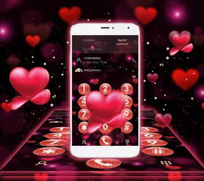 Red Heart Valentine's Day Theme apk screenshot