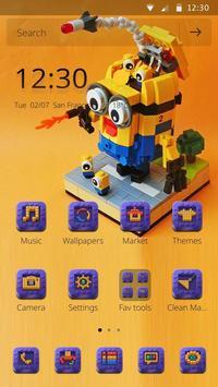 Lego theme poster