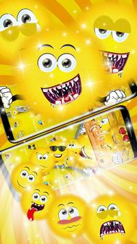 Cute Zipper  Emoji Theme apk screenshot