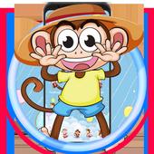 Cute Hat Monkey Theme icon